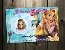TANGLED Rapunzel BIRTHDAY PARTY INVITATION CARD CUSTOM INVITE - PRINTABLE 1ST