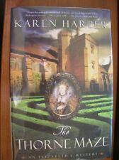 Karen Harper The Thorne Maze SIGNED 1st HC