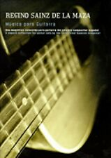 Regino Sainz de la Maza Sheet Musica para Guitarra NEW 014028625