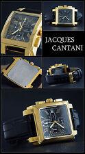 """quadrata cronografo orologio von JACQUES CANTANI modello """" Squadron """""""