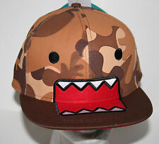 Anime Domo Camo Baseball Trucker Snap back Hat Cap New Tags Osfa Big Tent