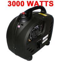 PureWave Digital 3000 WATT GAS GENERATOR INVERTER QUIET PORTABLE rv camping