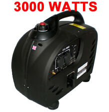 PureWave Digital 3000 WATT GAS GENERATOR INVERTER QUIET PORTABLE rv camping