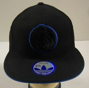 NBA Dallas Mavericks Adidas Flat Brim Fitted Cap Hat NEW!