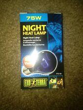 Exo Terra Reptile/Terrarium Night-Glo Blue Moonlight Lamp Bulb 75W FREE SHIP!