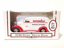 Ertl 1938 Panel Truck Ertl Super Valu Truck Diecast Bank Stock # F195 1:24 Scale