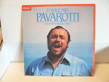 LUCIANO PAVAROTTI O sole mio Favourite Napolitan songs IST 657 Pressage ISRAEL