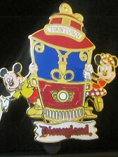 Disney Disneyland ToonTown Trolley Mickey Mouse & Minnie Mouse Pin