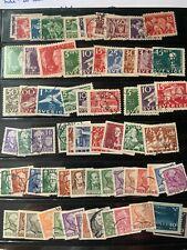 Swedish collection FU some MNH,1924 onwards