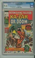 ASTONISHING TALES #8 CGC 9.6 TOUGH SQUAREBOUND KAZAR DOCTOR DR. DOOM MARVEL 1971