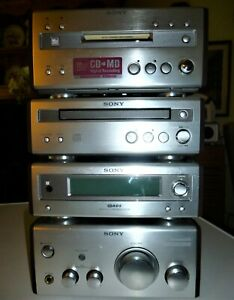 Sony SP55 Micro system Amplifier, Tuner, CD and Minidisc Deck excellent conditio