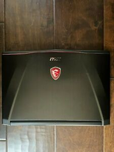 MSI Gaming Laptop GS43VR Phantom Pro with GTX 1060 1 TB HDD Excellent Condition