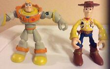 "Disney Toy Story Rescue Buzz Patrol Woody Hasbro 6"" Action Figures Star Squad"