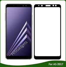 For Samsung Galaxy A5 2017 - 100% Genuine Tempered Glass Screen Protector BLack