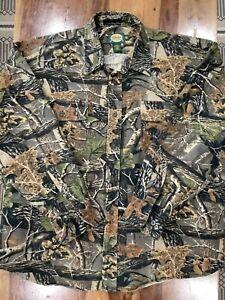 Cabela's Heavy Fleece Camo Shirt Men's 2XL Hunting.          489