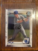 2020 Bowman Chrome BOBBY WITT JR 1st Rookie #BCP-25 Royals RC #1 PROSPECT Jr.