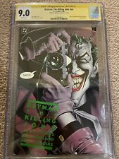 Batman: The Killing Joke CGC 9.0 NM Signed Bolland 1st print Moore Story