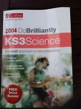Collins Revision Guide - Do Brilliantly KS3 Science Revision Guide Study Book