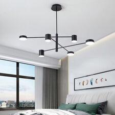 Large Chandelier Lighting Black Pendant Light Kitchen LED Lamp Bar Ceiling Light