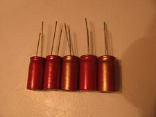 LOT 5 Elna 9740 Audio 35V 220uf CE85 Cerafine Capacitor. Made in Japan