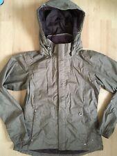 Genuine ARIAT Waterproof RAIN JACKET size Small UK 8 - 10 Hooded Zip Up Coat VGC