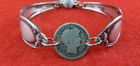Spoon Bracelet Silverwear Stylish Fashion Silverplate Cuff Victorian HOT Jewelry
