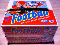 1988 Topps Football Cello Box ~ TWO (2) VERY NlCE CELLOPHANE WRAPPED B0XES