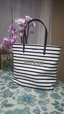 NWT Authentic KATE SPADE Bon Shopper down the rabbit hole QUEEN BEE black Tote