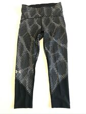 Under Armour New Fly Printed Crop Running Leggings Women's Small 1353511
