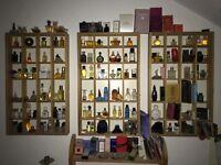 130 Parfum Miniaturen / Sammlung / Konvolut / Setzkasten