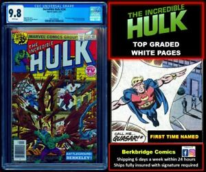🔥 INCREDIBLE HULK 234 CGC 9.8 WHITE PAGES 💥$ 1 COMBOSHIP w CAPTAIN AMERICA 217