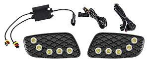 LED SMD 10x Flex Tagfahrlicht DRL TFL + R87 Modul E4 für Smart W451 16135