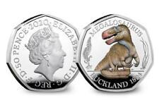 NEW !!! 50 PENCE 2020  Megalosaurus  DINOSAURUS  PRE ORDER !!!!!COLOUR