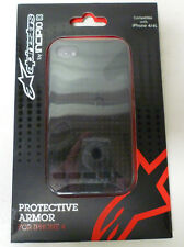 Alpinestars Incipio Bionic Cell Phone Case Protector Cover Black For Iphone 4 4S