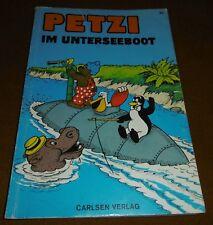 Carlsen Verlag COMIC Petzi nel sottomarino quaderno/libro 20 ALT 1969 bestnr 1020