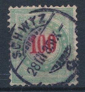 [52775] Switzerland Due 1883 Very good Used F/VF stamp $500