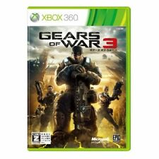 Used Xbox360 Gears of War 3 Japan Import