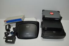 Lot Of 5 Network Routers And 1 Switch For Parts Cisco Netgear Intellinet