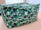 A bathing ape  camo bead cushion NW 20th anniversary bape duck kaws JAPAN