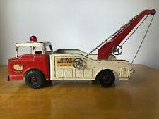 Vintage Tow Truck Wrecker 60's Ford COE Nylint 3400 Semi HI-WAY EMERGENCY Towing