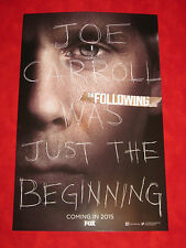 SDCC Comic Con 2014 Exclusive The FOLLOWING Kevin Bacon FOX Poster 11 by 17