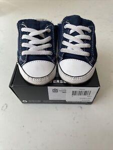 Converse Crib Shoes Size 4