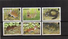 JERSEY 2007 COUNTRYSIDE ANIMALS SET OF 6 UM/MNH SG1304/9