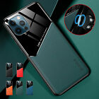 For iPhone 13 Pro Max 12 Mini 11 XR XS 78+ Shockproof Magnetic Leather Slim Case