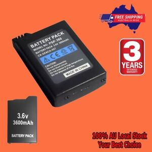 PSP1000 Battery For Sony PSP-110 PSP 1000 Console Gamepad capacity 3600mAh 3.6V