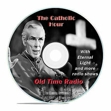 The Catholic Hour, 673 Classic Old Time Radio Religious Shows mp3 OTR DVD G38