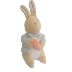 Eden Toys Vintage My 1st Peter Rabbit Holding Bunny Carrot Plush Stuffed Animal