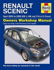 4297 Haynes Renault Scenic Petrol & Diesel 2003 - 2006 Workshop Manual
