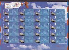 GB QEII Smiler Foglio di Francobolli UMM Gomma integra, non linguellato 2006 Hello da Washington LS30