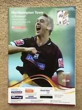 Northampton Town v Blackpool - Coca~Cola League 1 2006/07 Programme